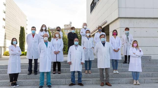 Investigadores del CIMA y de la CUN.