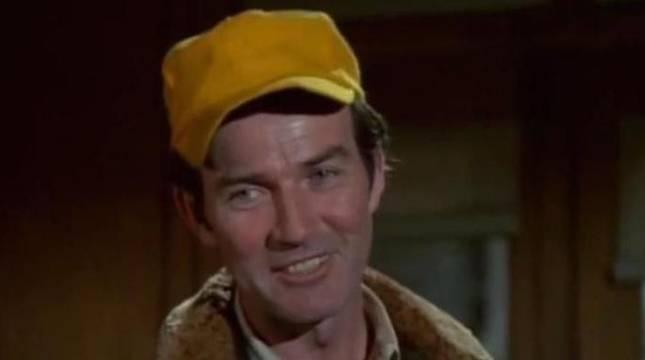 Robert Hogan, en la serie  'M*A*S*H'.