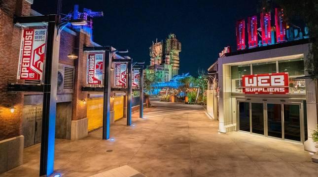 Fotografía cedida por Disneyland Resort donde se muestra el interior del