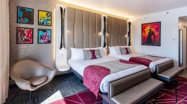 Disney abre el primer hotel dedicado a los cómics de superhéroes de Marvel en París
