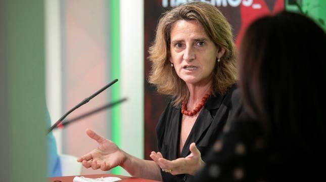 Teresa Ribera, vicepresidenta cuarta del Gobierno y ministra para la Transición Ecológica y el Reto Demográfico.