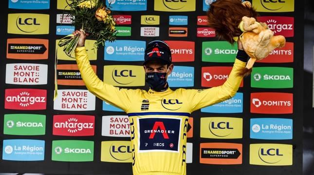 Richie Porte, ganador de la Dauphiné.