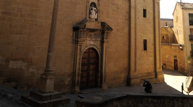 Iglesia de Santa María de Tafalla.