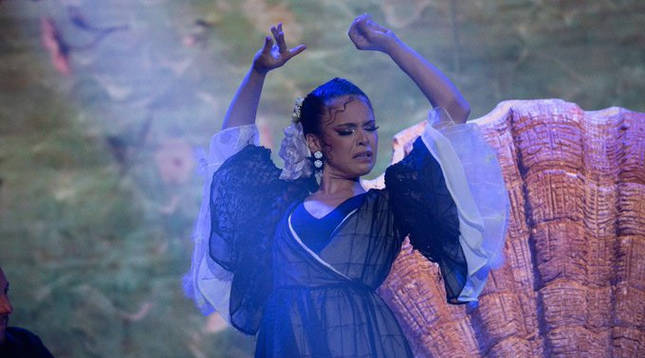 Fotografía de Macarena Ramírez en  'The Dancer'