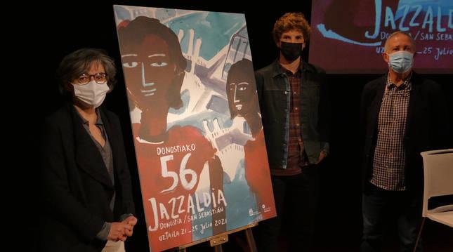 Presentación del cartel del Festival de Jazz de San Sebastián