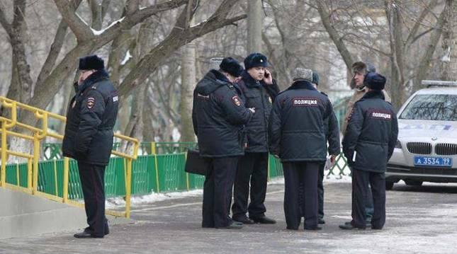 Policía rusa.