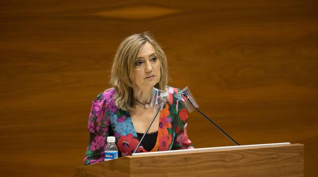 La parlamentaria Cristina Ibarrola.