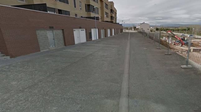 Vista de la calle Manuel