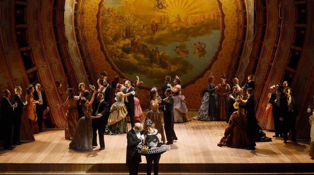 'Un ballo in maschera' de Verdi, único título de ópera que se representará de forma escenificada.