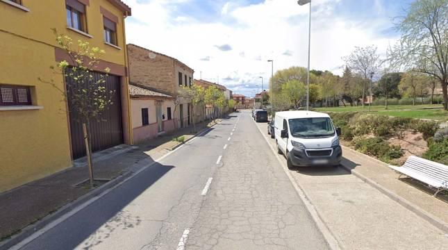 Trasladado al hospital Reina Sofía un niño de siete años atropellado en Tudela