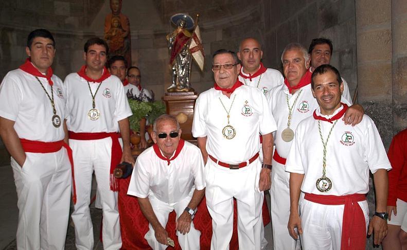 Imágenes de la Procesión de Santiago en las fiestas de Tudela  VIRGINIA JIMéNEZ