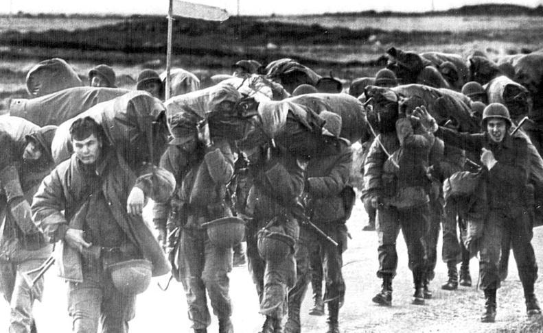 La guerra de las Malvinas de 1982  DN. ARCHIVO