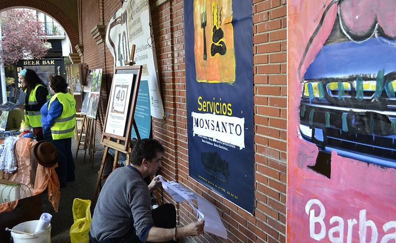 Mercado del trueque y segunda mano en Huarte  CLARA SANZ