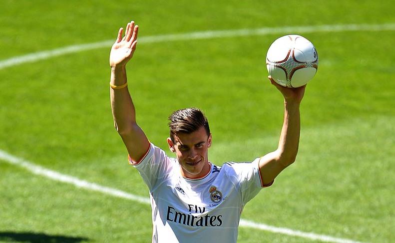 Presentación de Gareth Bale.AGENCIAS