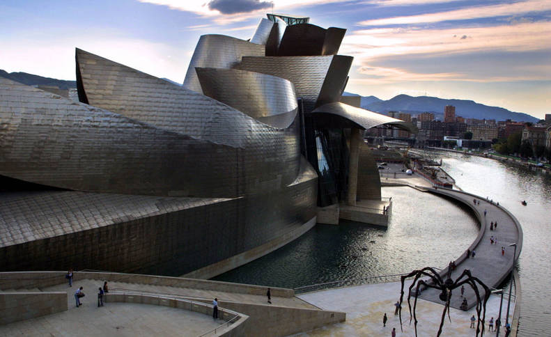 Museo Guggenheim. AFP