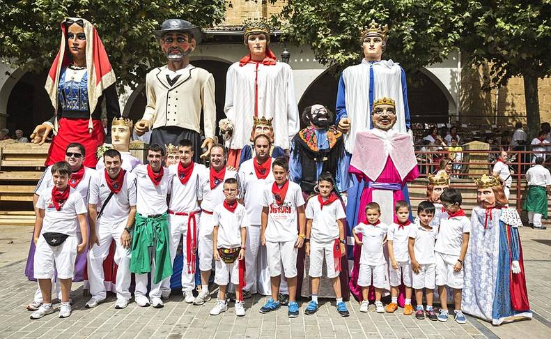Fiestas en Lumbier - 31 de agosto  Alberto Galdona