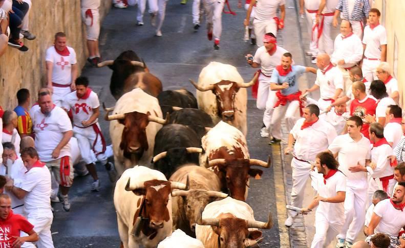 Las mejores imágenes del encierro exclusivas de los fotógrafos de Diario de Navarra