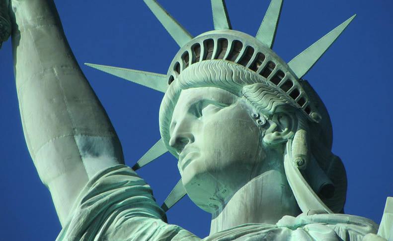 foto de la Estatua de la Libertad en Estados Unidos
