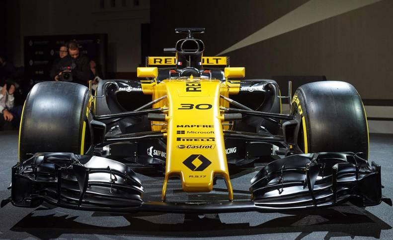 El nuevo modelo presentado por Renault para la temporada 2017