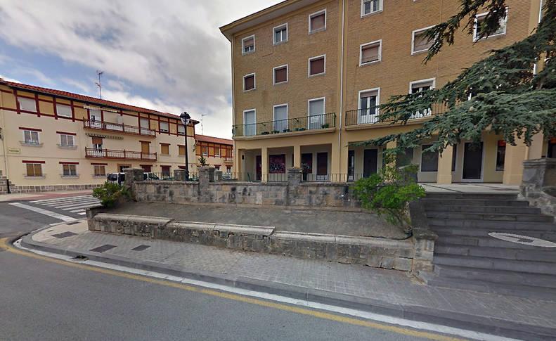Imagen del barrio pamplonés de la Chantrea.