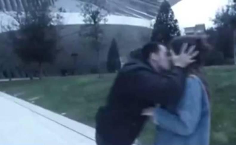 Un fotograma del vídeo de Wilson Alfonso.