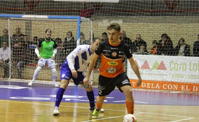 Imagen del partido disputado entre Aspil Vidal y Jumilla