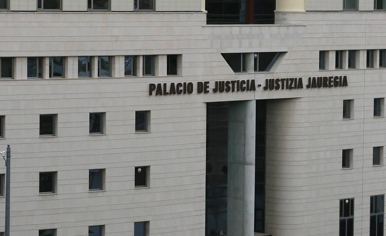 El Palacio de Justicia, en Pamplona.