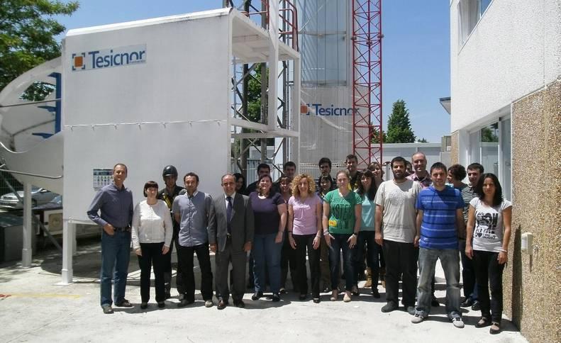 La empresa navarra Tesicnor, ganadora del Premio Iberdrola al Proveedor del Año 2017