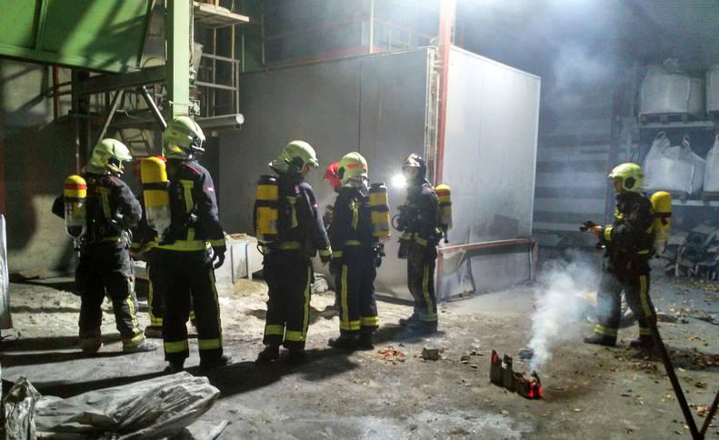 El conato de un incendio hace saltar las alarmas en Betelu