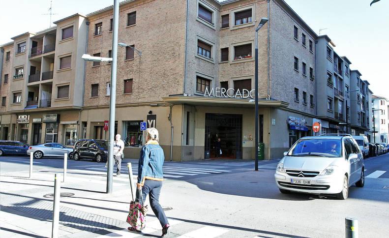 El edificio del Mercado del Ensanche terminó de construirse en 1948, cuando llegaron los primeros inquilinos.