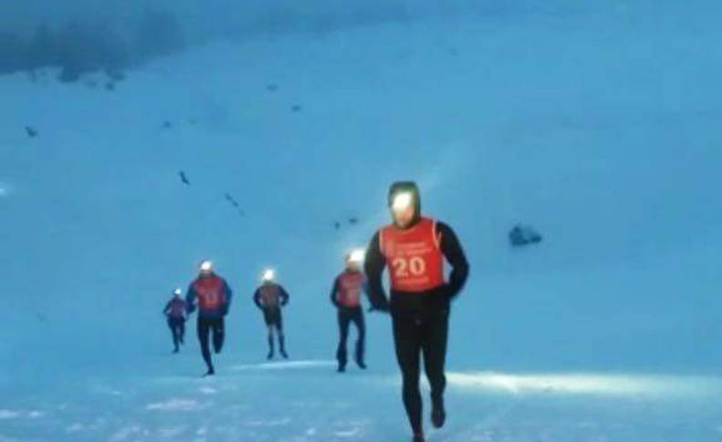 Armendáriz y Ruiz, campeones en la nieve