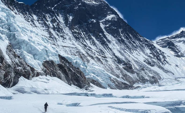 Un navarro de adopción asalta el sueño de subir el Everest