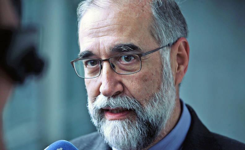 El consejero de Salud, Fernando Domínguez.