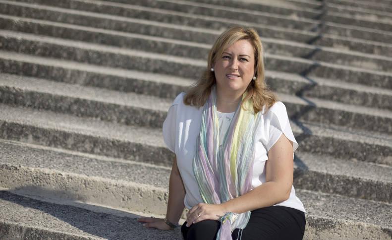 Olatz Ormaetxea Ruiz, guipuzcoana de 38 años, tiene dos hijos de 9 y 5 años.
