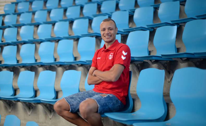 El cierre brasileño Juninho, sonriente tras uno de los entrenamientos de esta semana.