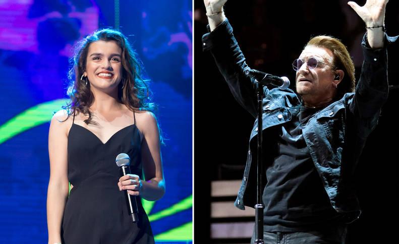 Amaia Romero y Bono, de U2.