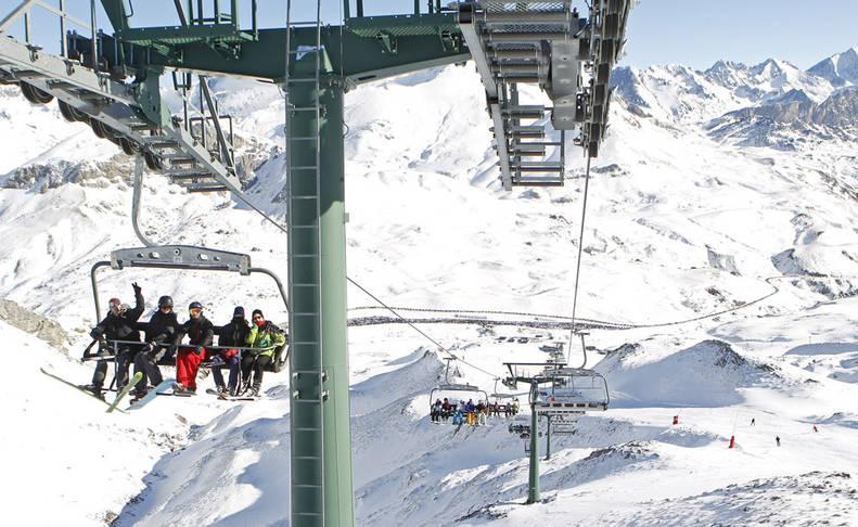 Los Pirineos perderán la mitad de su nieve en los próximos 30 años