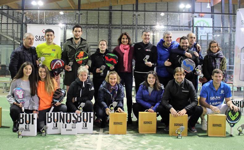 Las ocho mejores duplas del año en sus respectivas categorías compitieron en las instalaciones del PádelMáster Club de Mutilva.