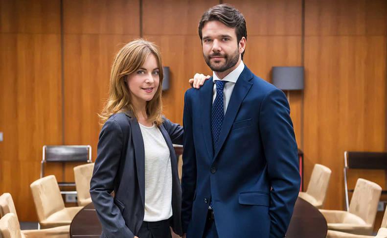 Alba Ribas y Jon Arias, protagonistas de 'Derecho a soñar'.