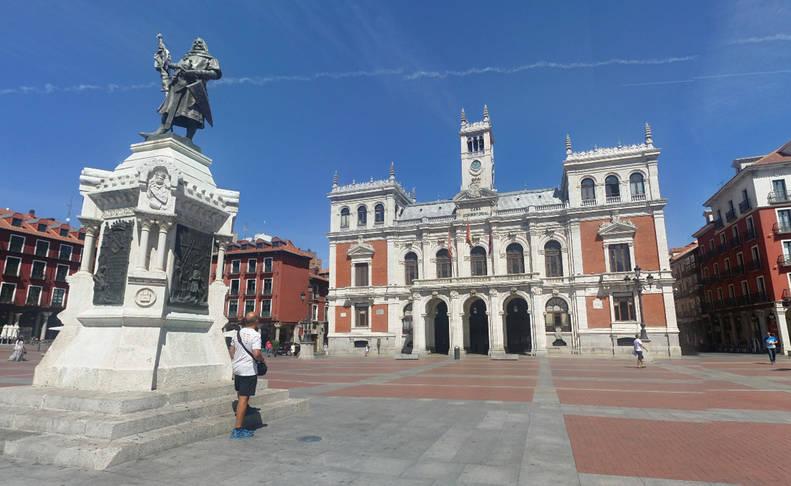 Imagen de la casa consistorial de Valladolid.