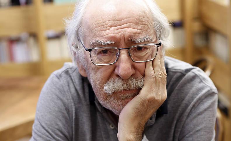 Aurelio Arteta, ayer en Walden, donde mañana presenta su libro reeditado sobre la compasión.