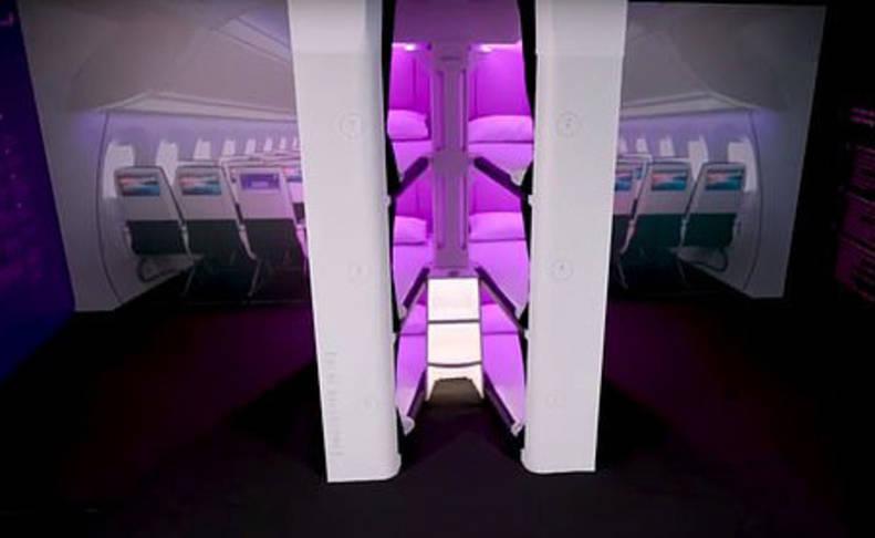 Vuelos en litera, la nueva apuesta de Air New Zealand para la clase turista
