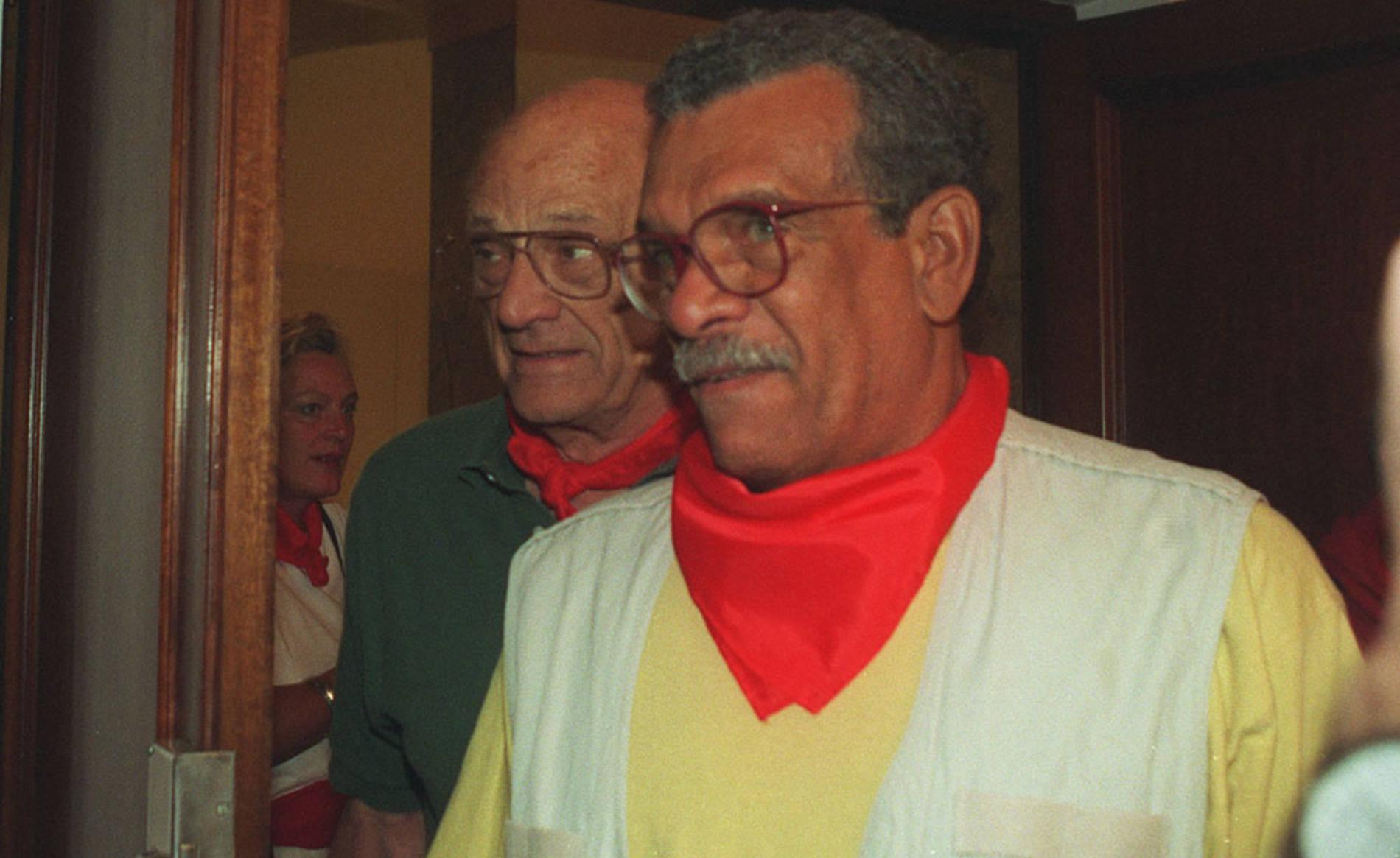 Varios famosos y personajes públicos disfrutando de las fiestas de San Fermín