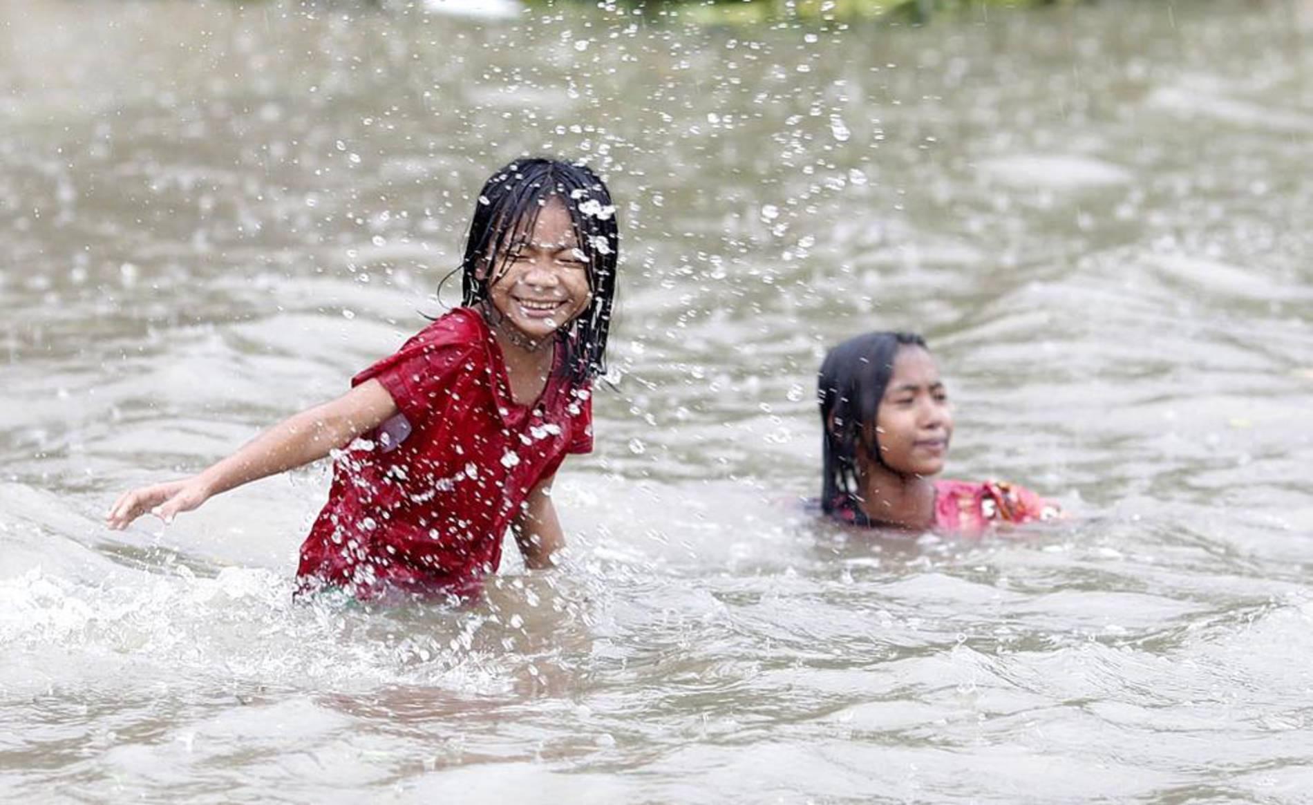 Imágenes de las inundaciones en la ciudad de Bago en Myanmar (Birmania)