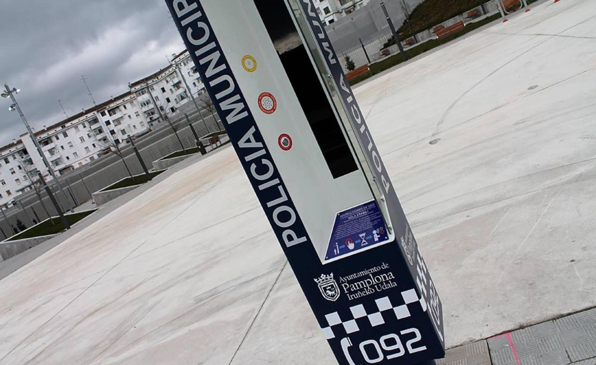 'Policía virtual' en la Milagrosa (1/4) - El Ayuntamiento de Pamplona ha puesto en marcha dos puestos de 'policía virtual' en la plaza Sanduzelai en el barrio de San Jorge y en la plaza Alfredo Floristán en el barrio de la Milagrosa. - Pamplona -