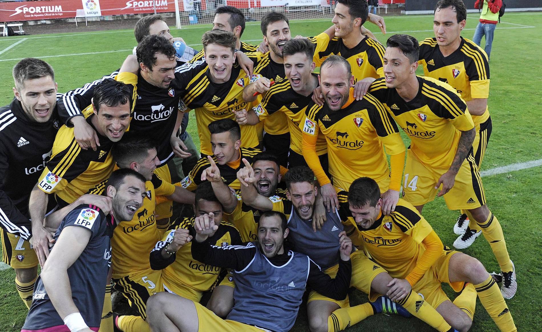 Victoria de Osasuna en Girona (0-1) (1/11) - Imágenes del encuentro del playoff por el ascenso que dio el ascenso al C.A. Osasuna en Montilivi. - Osasuna -