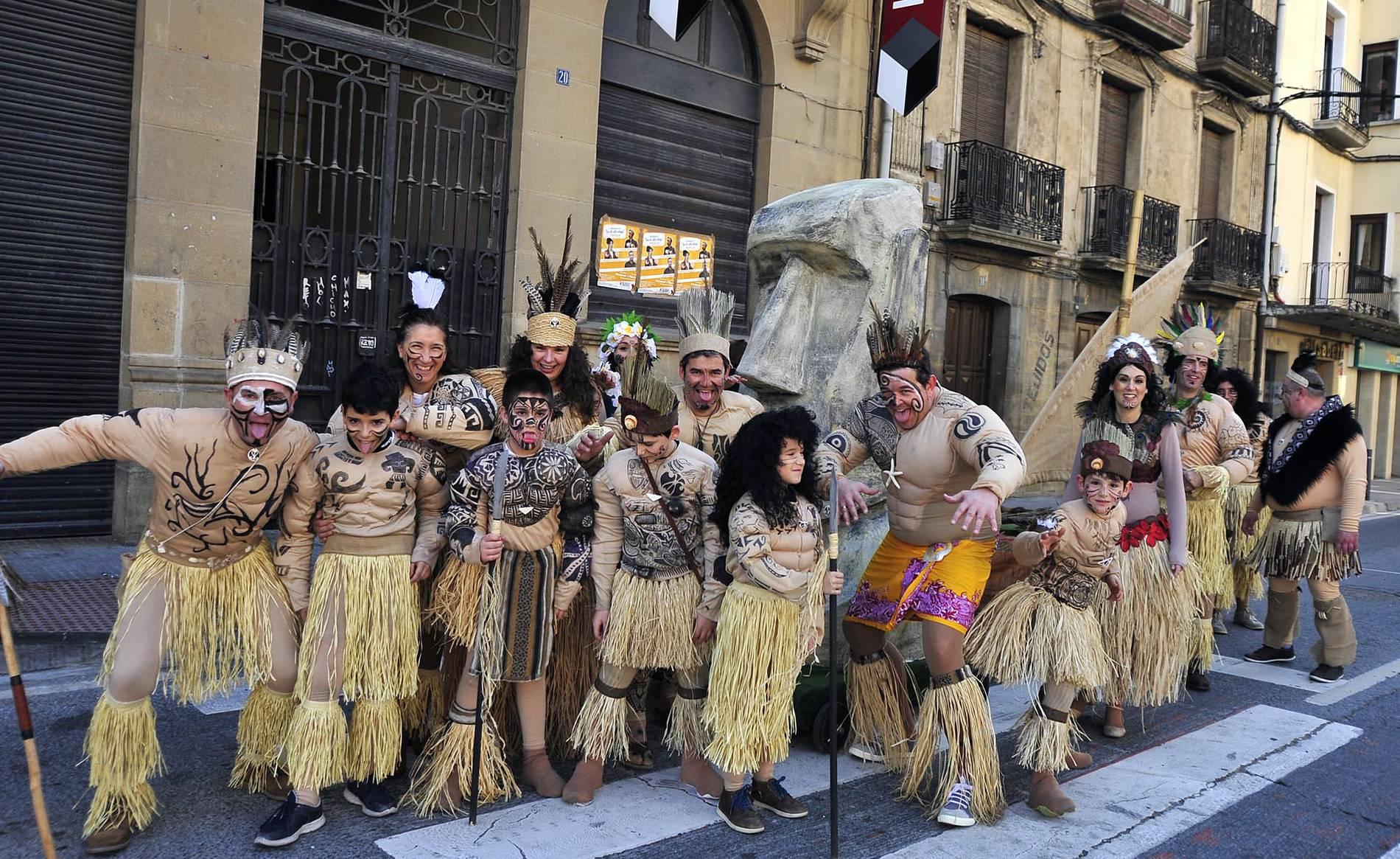 carnaval en tafalla diario de navarra