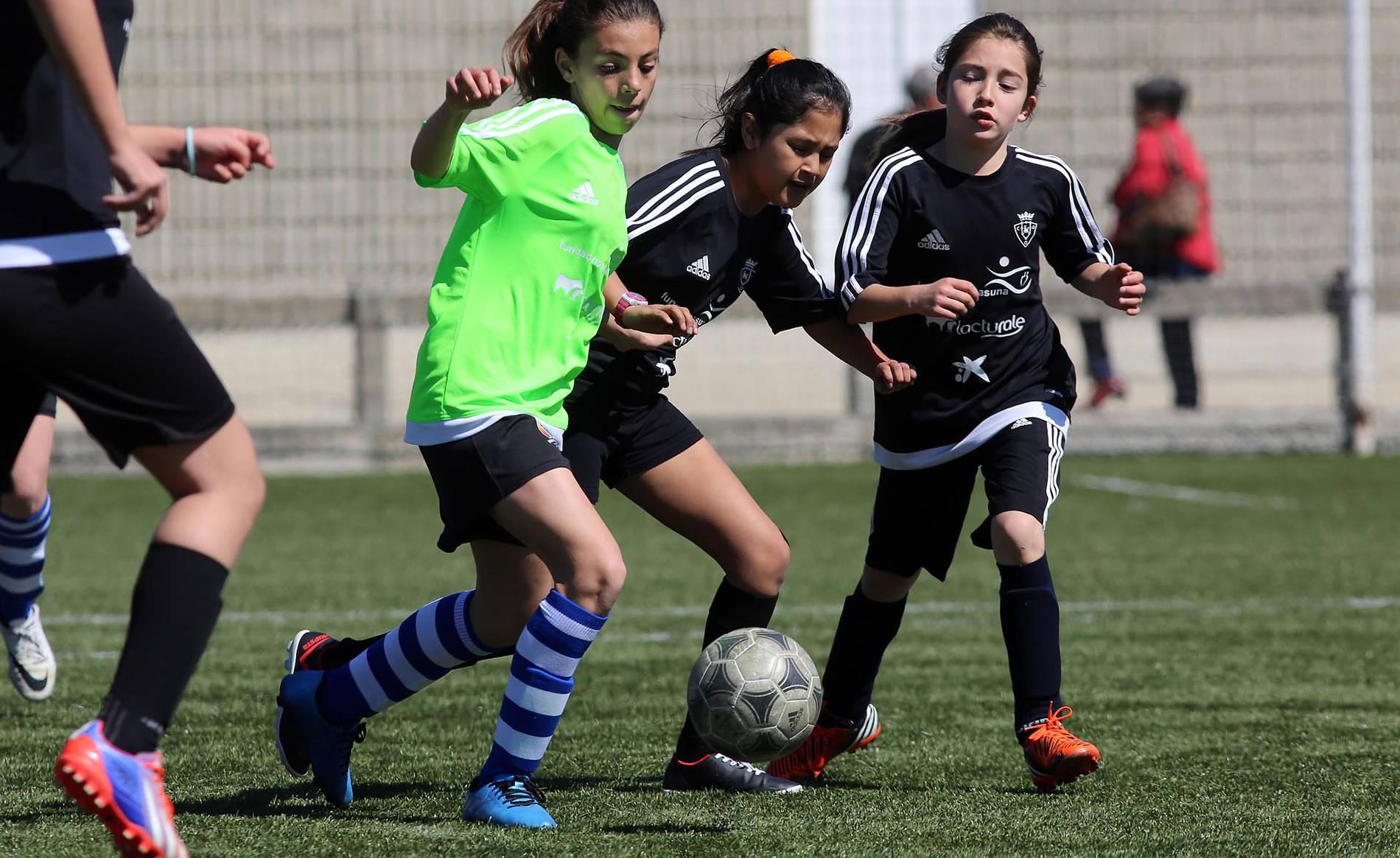 Tercera jornada del Interescolar Femenino (1/37) - Este jueves se han disputado los últimos cinco partidos de la fase de grupos. - Fútbol -