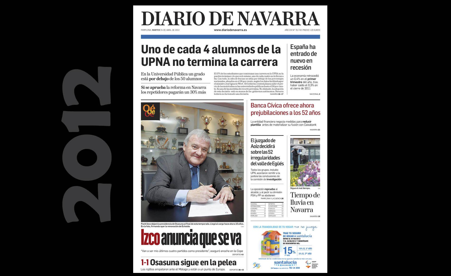 Hemeroteca visual del 23 de abril (1/12) - Las imágenes del día de hace 5, 10 y 20 años. - Navarra -