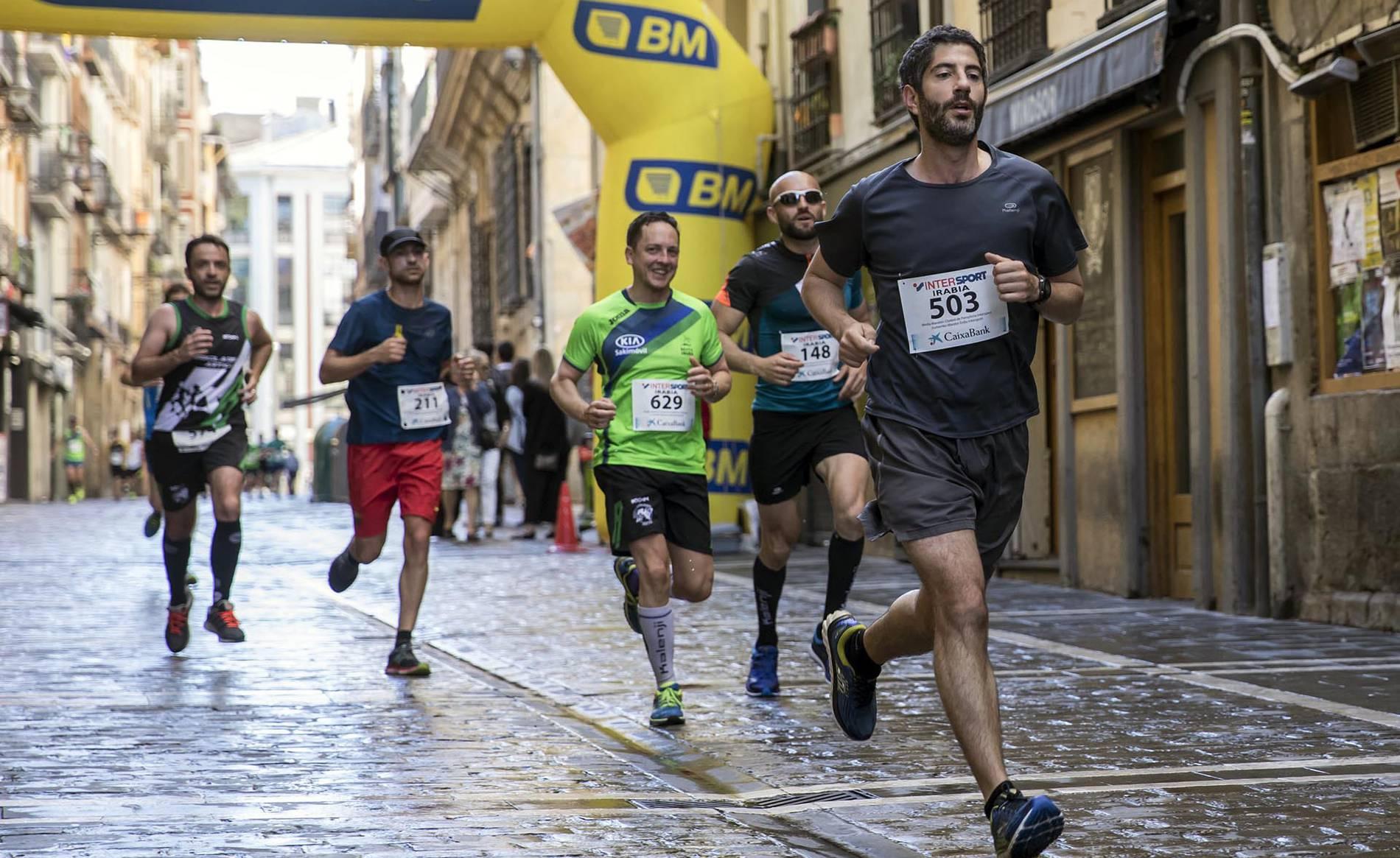 Medio Maratón de Pamplona (1/46) - Hafidi y Malón se han impuesto en la 36ª edición de la carrera. - Fotos DNRunning -